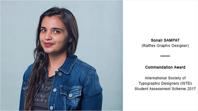 Commendation Award International Society of Typographic Designers (ISTD) Student Assessment Scheme 2017
