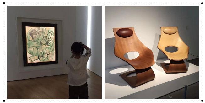 """莱佛士室内设计学生参观""""和""""美术馆"""
